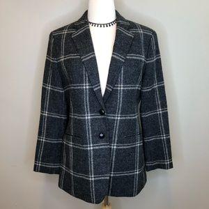 Lauren Ralph Lauren | Plaid Wool Coat Jacket